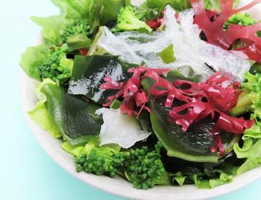 食物繊維豊富な海藻類