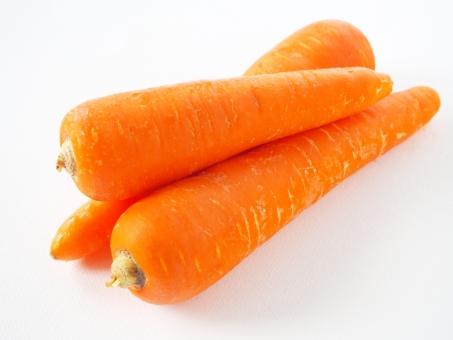 βカロテン(ビタミンA)豊富なニンジン