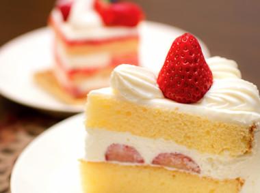 糖分の多いショートケーキ
