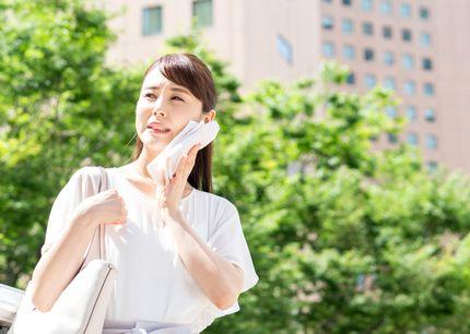 汗、皮脂に悩む女性