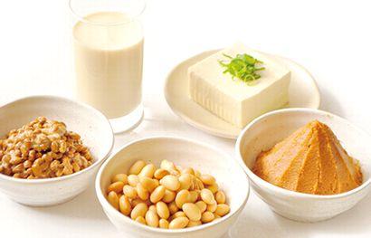 お豆腐や納豆などの大豆製品