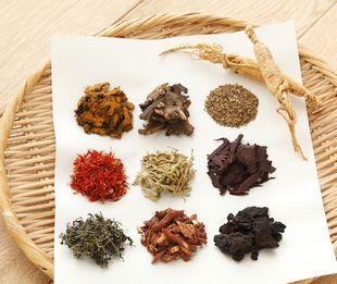10種類の東洋ハーブ、薬用植物