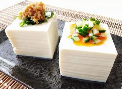 たんぱく質や大豆イソフラボンが豊富なお豆腐