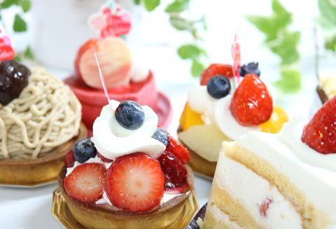 砂糖や小麦粉が多く使われている洋菓子