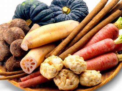 暖色系をした体を温める食材