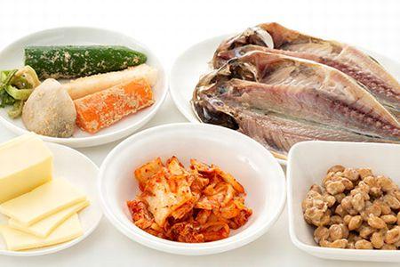 納豆やお漬物などの発酵食品