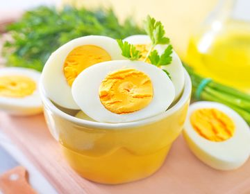 良質なたんぱく質を含む卵