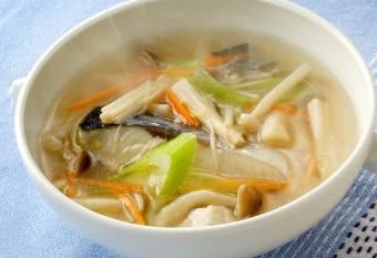 野菜たっぷりの和風スープ