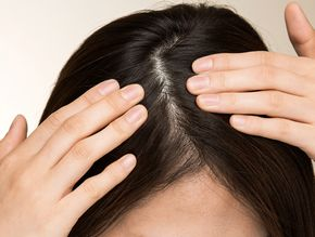 清潔で健康的な頭皮
