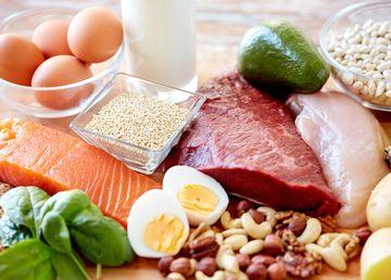 たんぱく質豊富なお肉やお魚、卵など