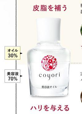 coyori(こより)美容液オイルの2層構造