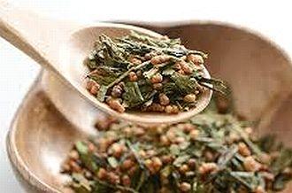 玄米茶の茶葉