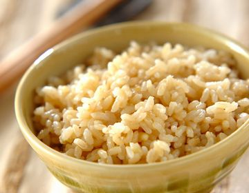 食物繊維豊富な玄米