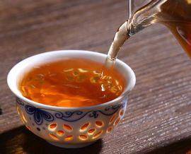 重合カテキンや没食子酸が含まれるプーアール茶