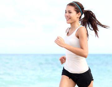 二重あご改善のため運動する助成