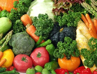ビタミン、ミネラル豊富な多くの野菜