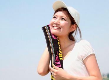 適度な運動で汗を流す女性