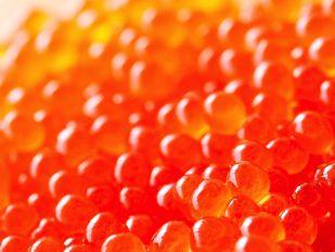 アスタキサンチンが含まれるイクラ