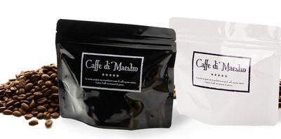 「マエストロ・プレミアムブレンド」と月替わりコーヒーのパッケージ
