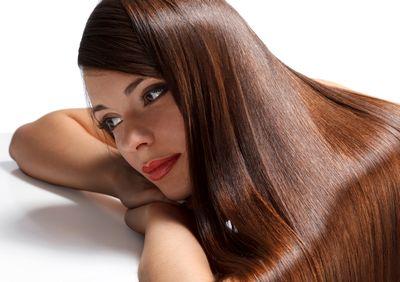なめらかで、まとまりのある美しい髪
