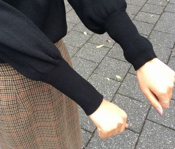 手首が温かい洋服