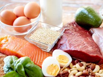 たんぱく質豊富なお肉や魚、卵など