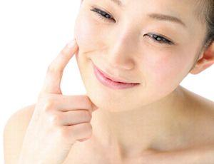 肌の代謝が高まり、ぴんとハリがある素肌
