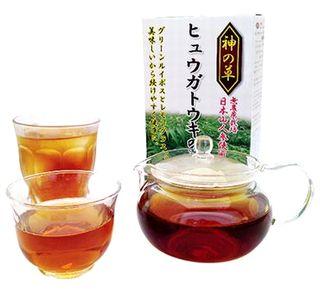 神の草ヒュウガトウキのお茶