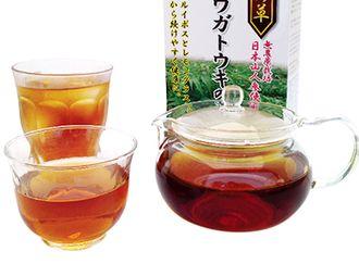 濃さの異なるお茶