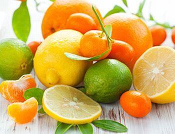 柑橘系、シトラス系の香り、香水のイメージ