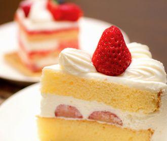 糖分の多いケーキ