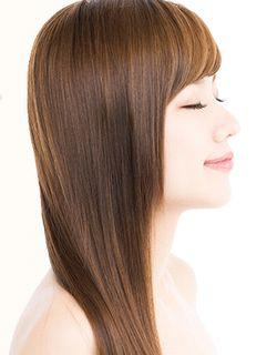 オイルコントロールやWトリートメントで艶やかでまとまりのある美髪