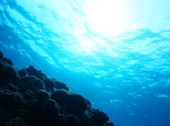 海洋深層水が抽出できる美しい海のイメージ
