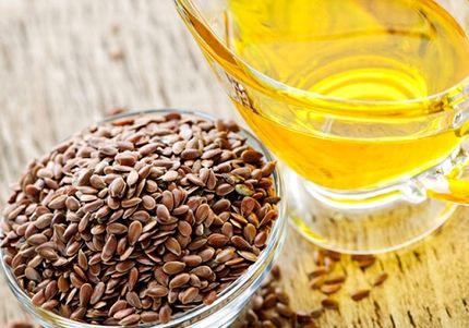 亜麻の種子と亜麻仁油(アマニ油)