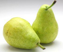 セイヨウナシの果実