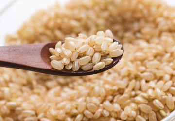 ビタミン、ミネラル、食物繊維豊富な玄米