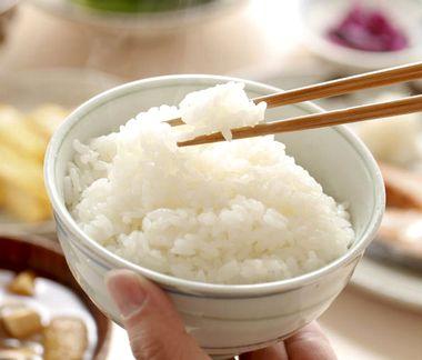 こんにゃく米を炊いた様子