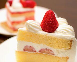 糖分たっぷりのケーキ