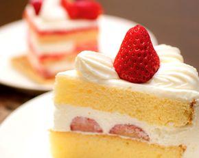 糖質、糖分の多いケーキ