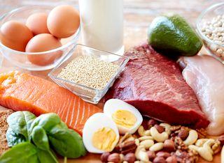 たんぱく質豊富な食べ物、食材