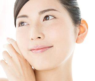 肌の代謝がよくなり、明るく、若々しい素肌