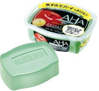 AHA(フルーツ酸)が配合されたピーリング石鹸