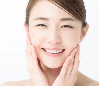 肌の菌バランスが整えられた美しい素肌