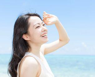 優れたUV効果で白く、透明感のある肌