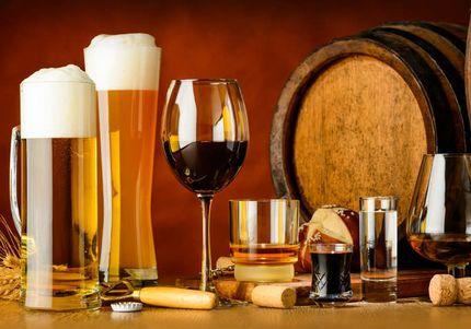 ビールやワインなどのお酒、アルコール類