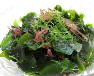ヨードが含まれる海藻類