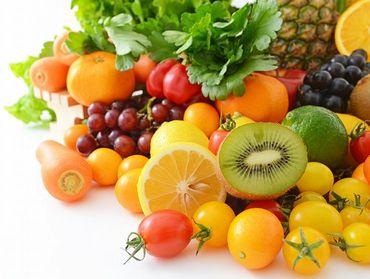 ビタミンやミネラルが豊富な野菜や果物