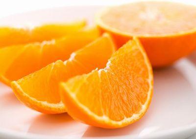 ソラレンが含まれる柑橘の果物