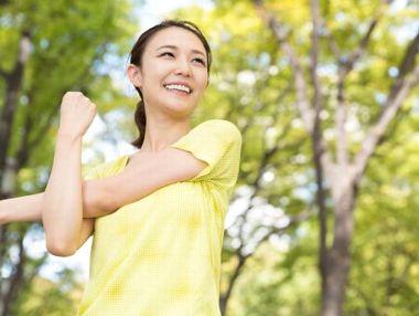 高い抗酸化作用で老化防止、若々しい女性