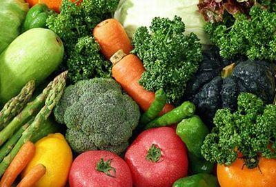 食物繊維豊富な多くの野菜